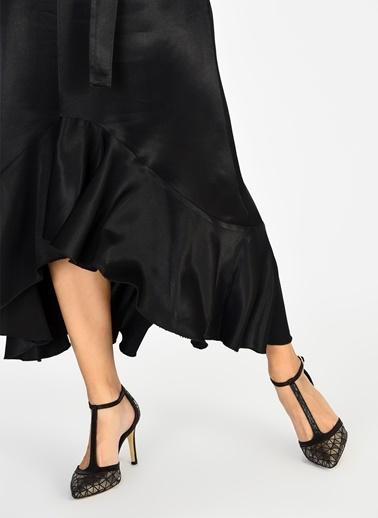 D by Divarese Topuklu Ayakkabı Bakır